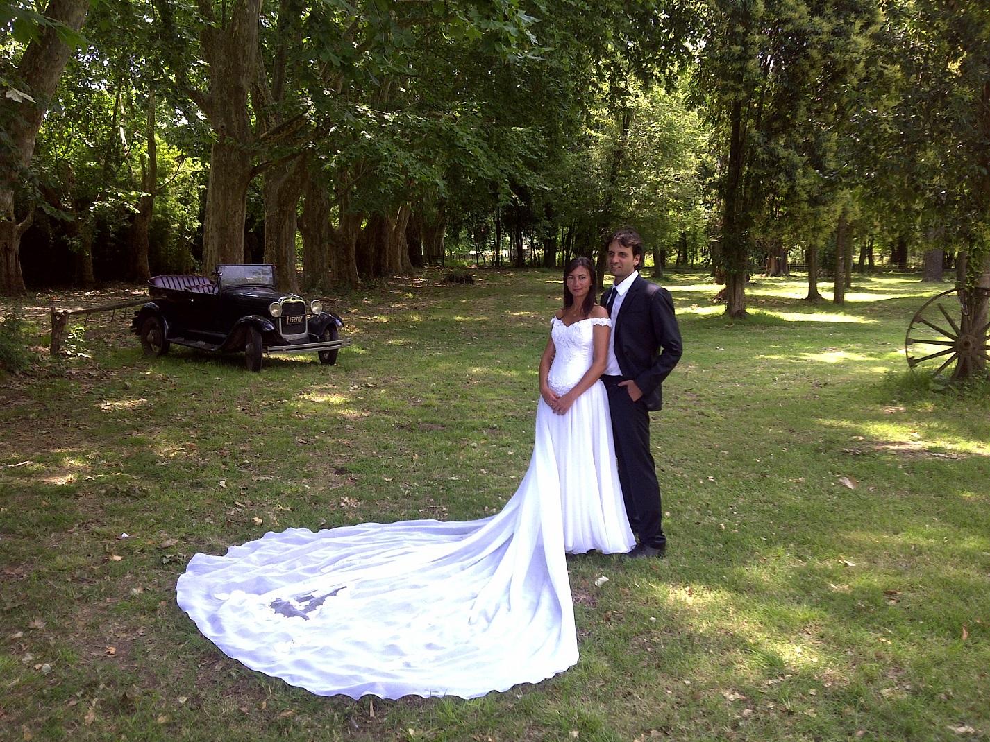Un lindo casamiento en La Dulce !