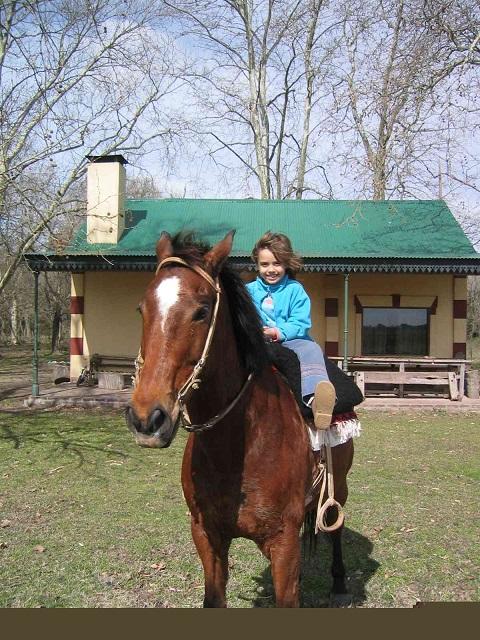 une ballade a cheval